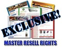 2009 - 10 Niche sites + Master Resale Rights